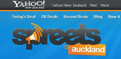 spreets nz yahoo closing down?