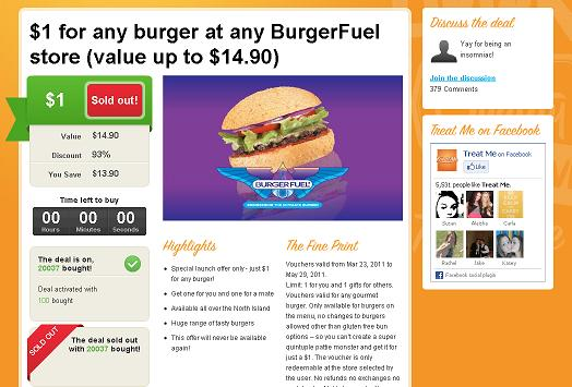 burger fuel $1 20,000 treat me