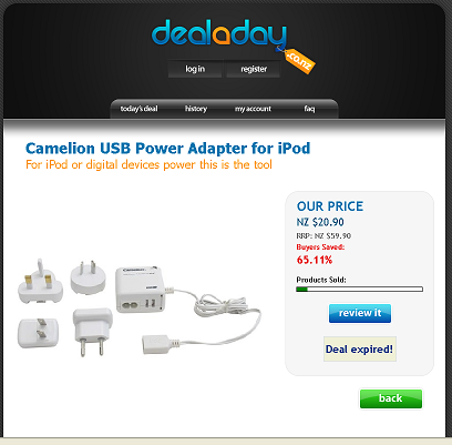 deal-a-day-camelion-usb-power-adaptor-ipod